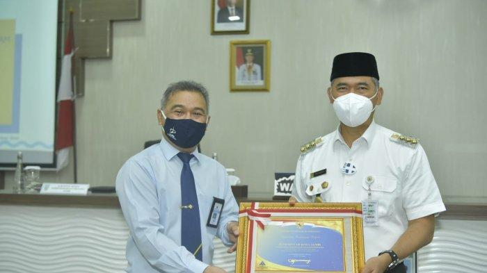 Menteri Keuangan Kembali Beri Penghargaan Kepada Pemkot Jambi, 4 Kali Beruntun Raih WTP