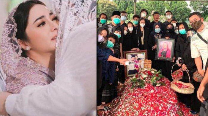 Duka Mendalam Nikita Willy Menangis di Kuburan, Indra Priawan Batalkan Bulan Madu: Mohon Doanya