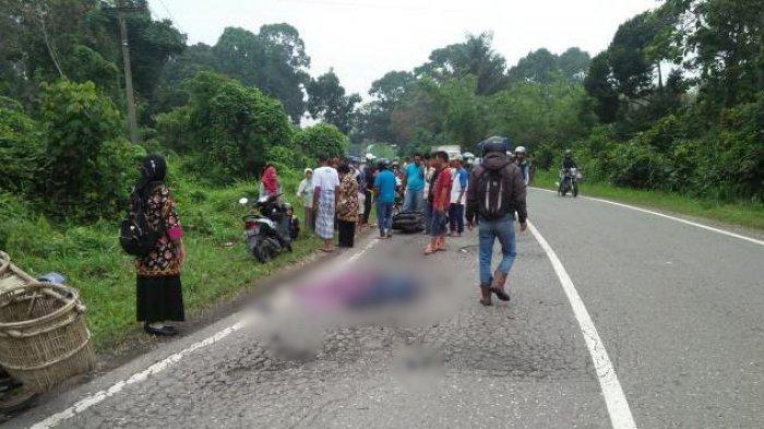 Lakalantas di Bukit Baling dengan Truk Tangki, Pengendara Vespa Meninggal di Tempat