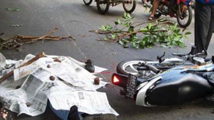 BREAKING NEWS Hendak Mutar Depan PLN Muara Bungo, Abubakar Dihantam Sepeda Motor Hingga Tewas