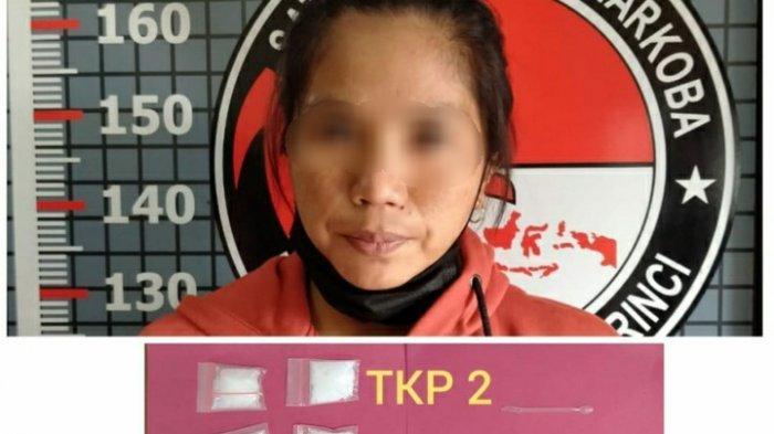 Tahanan Wanita yang Kabur di Sungai Penuh Ditangkap di Siluak, Polisi Bergerak Tengah Malam