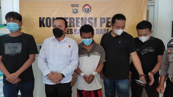 Upaya Warga Kerinci Kabur dari Sel Kandas, Begini Pengakuan Santos Saat Ditangkap Polres Batanghari
