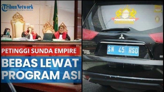 BIKIN Geger Kemunculan SIM Kekaisaran Sunda Nusantara Usai Para Petinggi Sunda Empire Bebas Penjara