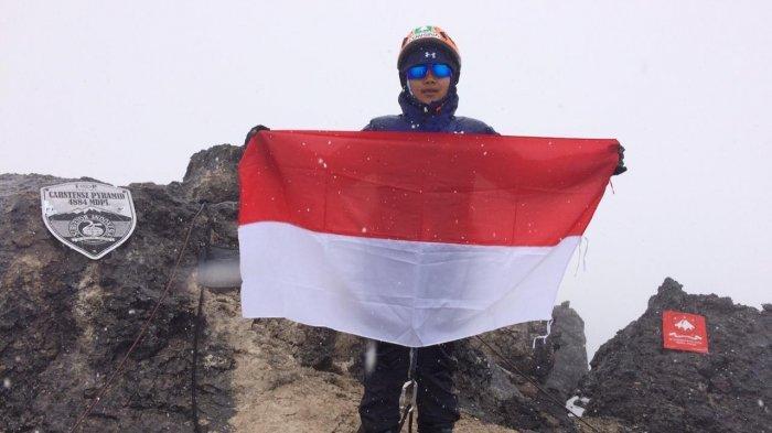 Taklukan Puncak Carstensz di Papua, Diusia 10 Tahun, Pendaki Cilik Ini Penasaran dengan Gunung Lain