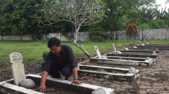 Kondisi Taman Makam Pahlawan Batanghari Mulai Usang, Sisi Selatan Lahan Ditumbuhi Pohon Pisang