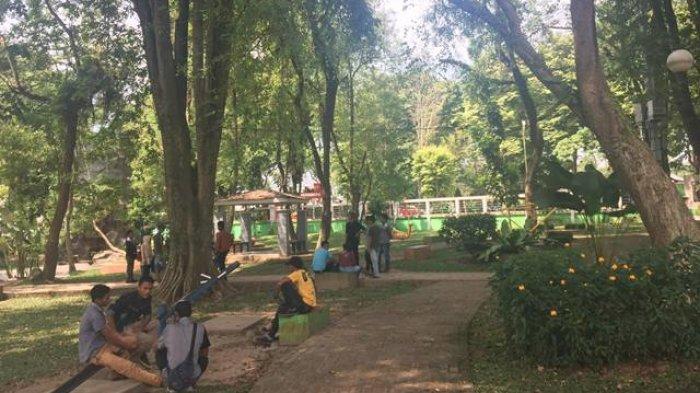 Objek Wisata Taman Remaja Kota Jambi, Selalu Ramai Dikunjungi Para Millenial Kota Jambi