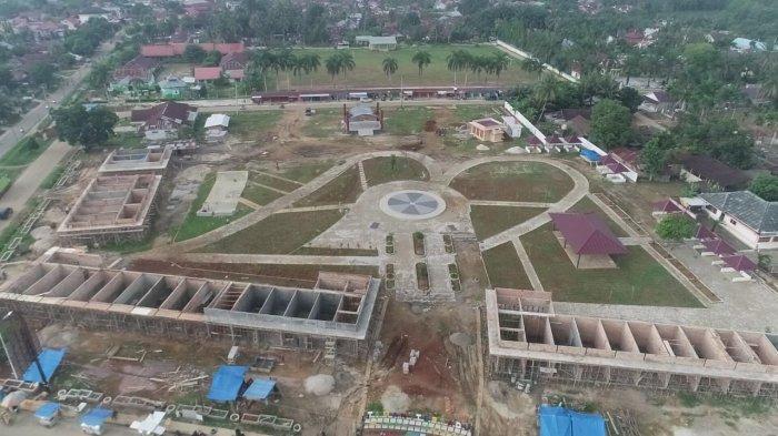 Batal Buat RTH, Pemkab Tebo Akhirnya Bangun Taman Terpadu di Rimbo Bujang