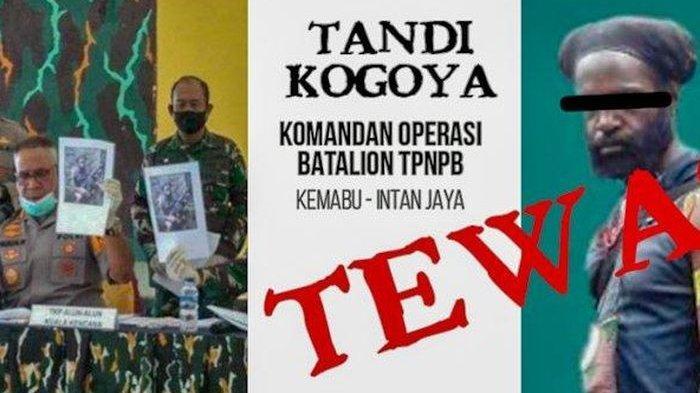 Tandi Kogoya Tewas, Salah Satu Dedengkot KKB Papua Ini Jasadnya Diperlakukan Berbeda oleh Rekannya