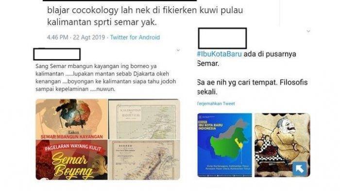 Viral Penampakan Pulau Kalimantan Disebut Mirip Semar, Apakah Ada Kaitannya dengan Filosofi Jawa?