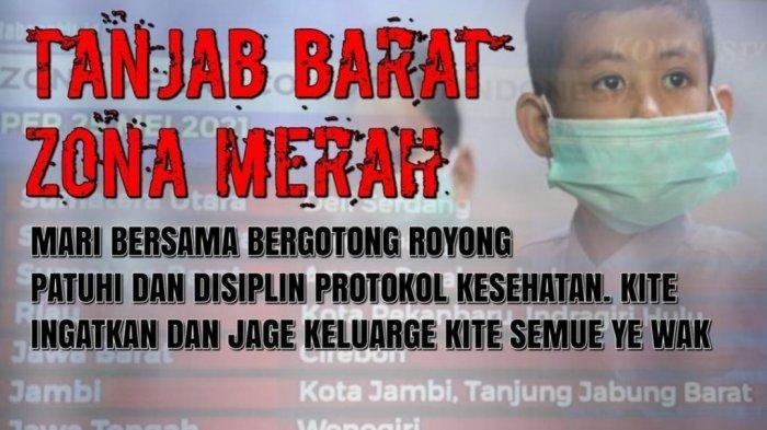 Tanjung Jabung Barat Zona Merah, Satgas Covid-19 Kembali Berlakukan Jam Malam