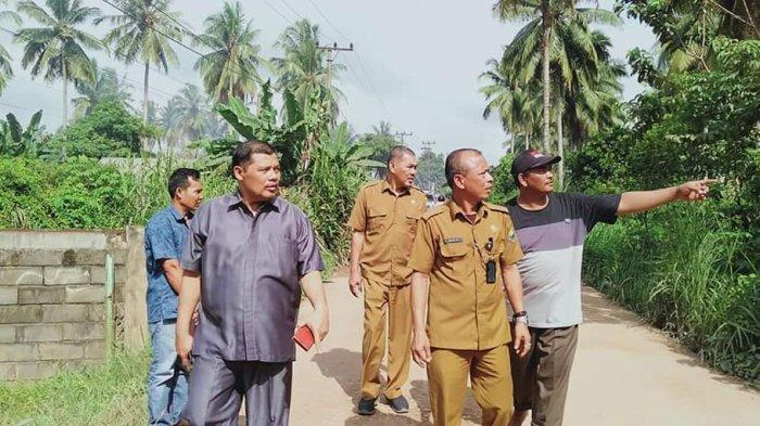 Tanjung Nangko Dianggap Lokasi Strategis, Koperindag Tinjau Lokasi Pembangunan Pasar di Kasang Pudak
