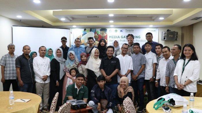 Tanoto Foundation Adakan Media Gathering Dengan Wartawan dan Humas Pemerintah, Sampaikan Program