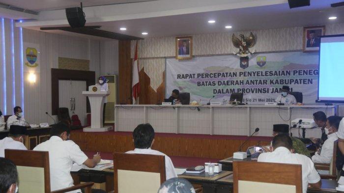 Pj Gubernur Jambi Tegaskan Percepatan Penyelesaian Masalah Batas di Provinsi Jambi