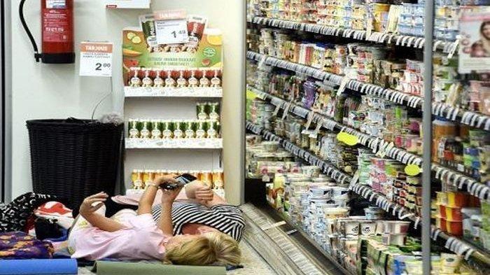 Mendekati Suhu Terpanas, Supermarket di Finlandia Ini Perbolehkan Pelanggan Nginap di Toko