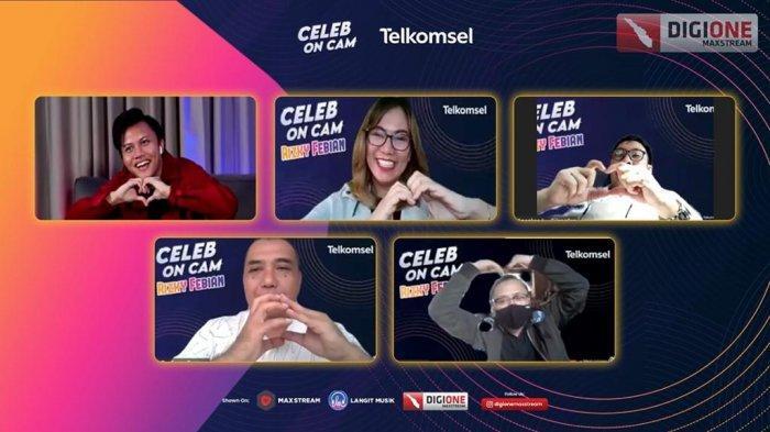 Telkomsel Gelar Celeb on Cam Bersama Rizky Febian