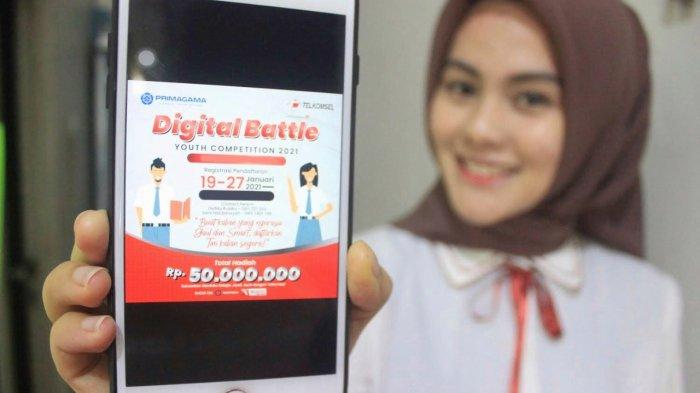 Dorong Adaptasi Teknologi & Mindset Digital Pelajar Jambi, Telkomsel Hadirkan Program Cerdas Cermat