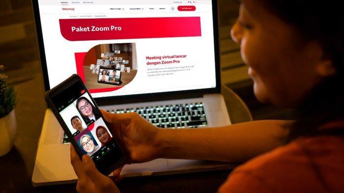 Telkomsel Bersama Zoom Hadirkan Pengalaman Premium Interaksi Virtual