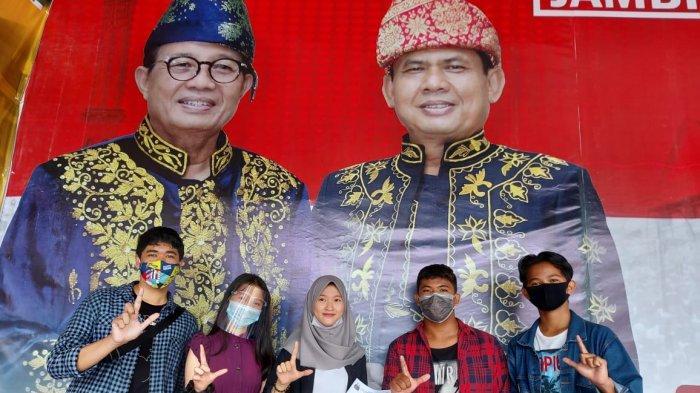 Ratu dan Milenial Jambi Berkah Siap Menangkan Fachrori Umar - Syafril Nursal