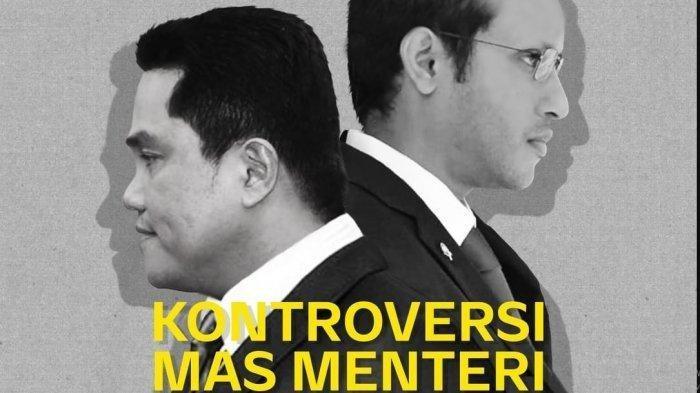 SESAAT LAGI! Nadiem Makarim dan Erick Thohir Akan 'Disidang' Najwa Shihab di Mata Najwa Trans 7
