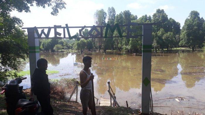 Tempat Wisata Lubuk Tembesu, Terendam Air, BPBD Tebo Petakan Daerah Rawan Banjir