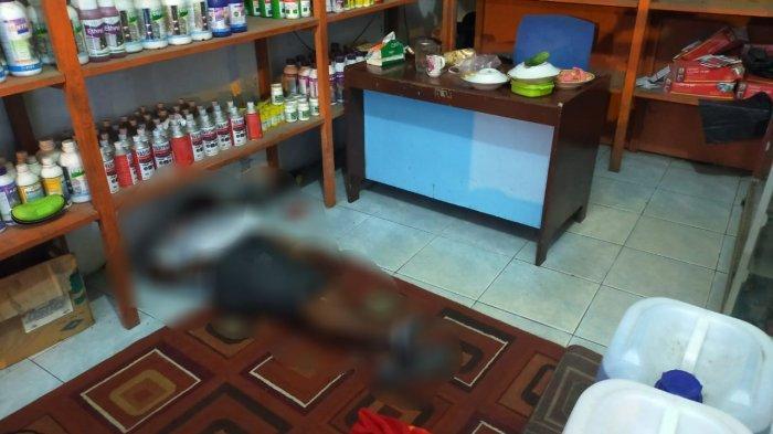 BREAKING NEWS Mayat Usia 60 Tahun Ditemukan di Sebuah Toko di Tebo Tengah