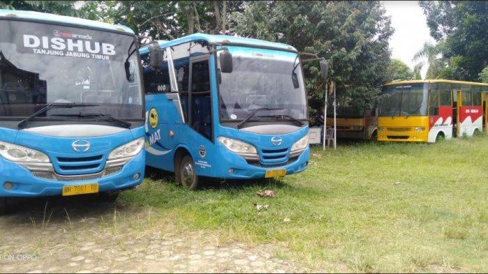 Pengoperasian Bus Sekolah di Tanjabtim Masih Terkendala Aturan