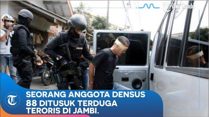 FAKTA Lengkap Anggota Densus 88 Ditikam Terduga Teroris Secara Membabi Buta, Luka Di Perut dan Kaki