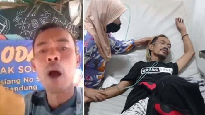 Sempat Viral Video Odading Mang Oleh Ade Londok Kini Kritis di RS,Tulang Ekornya Terhempas ke Lantai