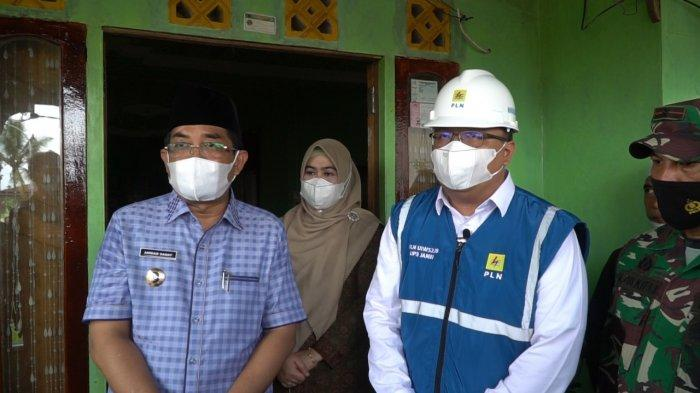 Sambut Ramadhan, PLN Bersama Bupati Gelar Syukuran Atas Terlistrikinya 19 Desa di Tanjabbar
