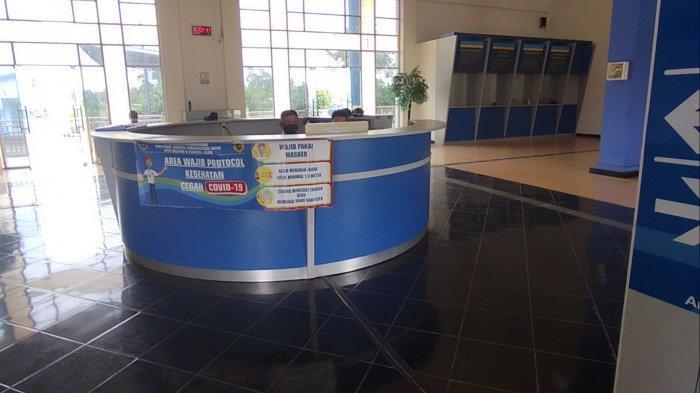 Tak Ada Aktivitas di Terminal Bus Sri Bulan Sarolangun, Kios Loket Tutup