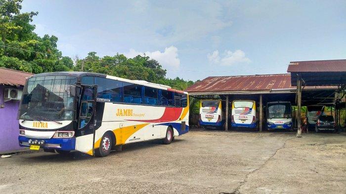 Perusahaan Otobus di Jambi Kecewa Adanya Kebijakan Larangan Mudik Saat Lebaran 2021