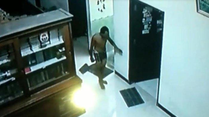 Pelaku Spesialis Bongkar Rumah di Bungo Akhirnya Tertangkap, Aksinya Terekam CCTV