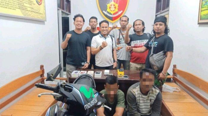 Beraksi di 18 TKP, Dua Tersangka Curat di Tebo Diamankan Polisi