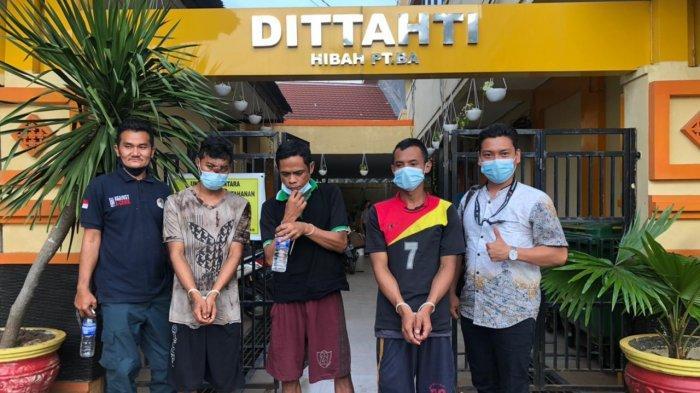 Tiga Warga Muaro Jambi Tersangka Illegal Logging Dilimpahkan ke Gakkum Sumsel