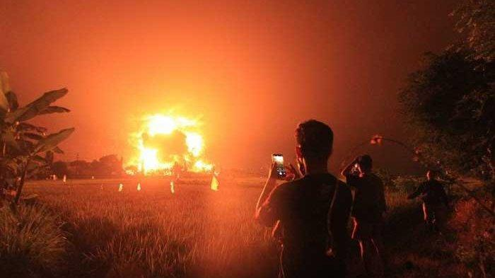 Terungkap penyebab kebakaran hebat kilang minyak Pertamina di Balongan
