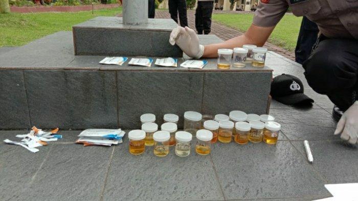 Tes Urine Mendadak di Polres Sarolangun, Sejumlah Oknum Polisi Kedapatan Konsumsi Narkoba
