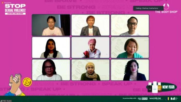 Konsistensi Perjuangkan Pengesahan RUU PKS, The Body Shop Indonesia Luncurkan Kampanye No! Go! Tell