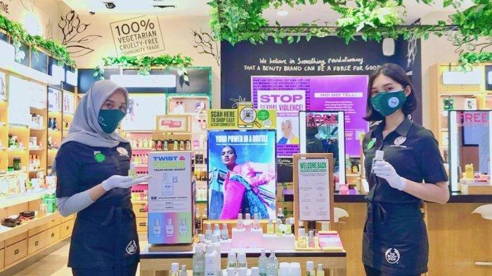 The Body Shop Jamtos Persembahkan Rangkaian White Musk dan Tiga Pilihan Toppers
