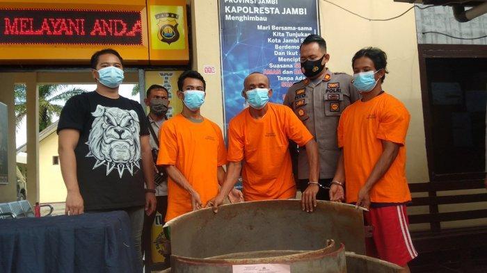 Berprofesi Jadi Tukang Gali Sumur, Baim Juga Curi Tiga Motor dan Bongkar Rumah Warga Kota Jambi