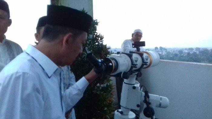 INILAH Daftar Lokasi Pengamatan Hilal Awal Ramadhan 2021, Untuk Jambi Akan Digelar di Hotel Ini
