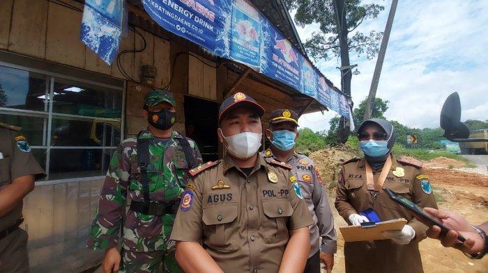 Tim Gabungan di Batanghari Razia Warung Remang-remang, Petugas Sita Ratusan Liter Tuak