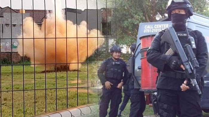 BEGINI Penampakan Bom Terduga Teroris di Condet yang Diledakan, Polisi Sampai Gali Lubang Dalam