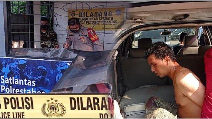 Pelaku Penusuk Polisi di Pos Lantas Angkatan 66 Palembang Modus Tanya Alamat Sebelum Lukai Korban