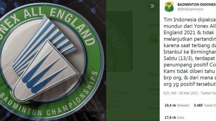 Siapa yang Salah Dalam Kasus All England? Tim Indonesia Dipaksa Mundur Hingga Diperlakukan Tak Adil