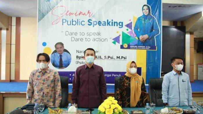 TP-PKK Sungai Penuh Gelar Seminar Bertema 'Dare to Speak, Dare to Action'