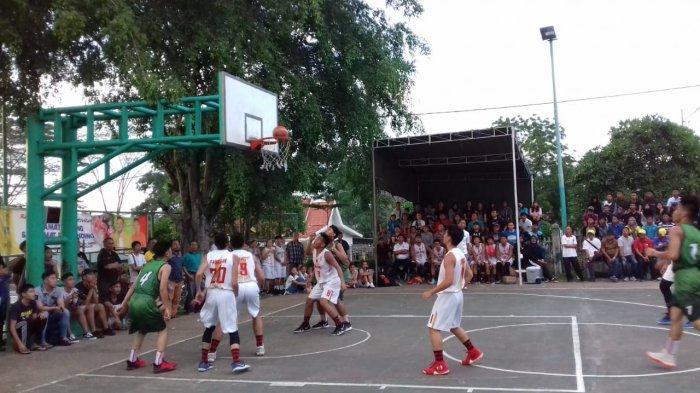 Sempat Perang Tembakan Three Point, Tim Basket Putra Kota Jambi Tumbangkan Batanghari