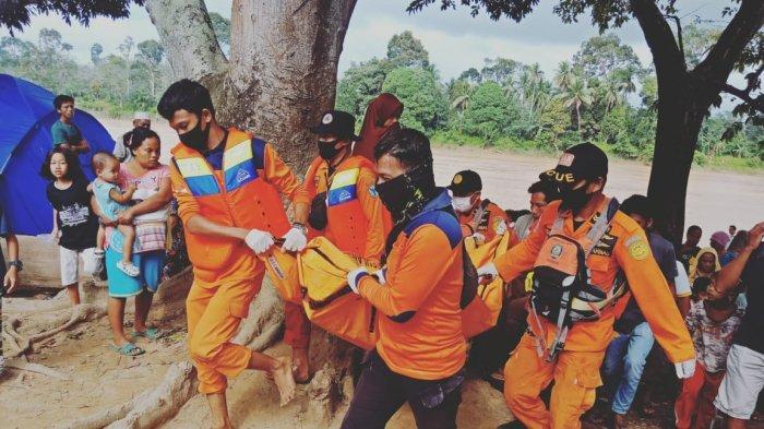 Jasad Warga Desa Jelutih Ditemukan Mengapung di Bantaran Sungai Tembesi, Dua Hari Dicari Tim SAR