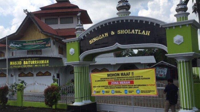 Tidak Diizinkan Salat di Masjid, Khusus Daerah Zona Merah Covid-19