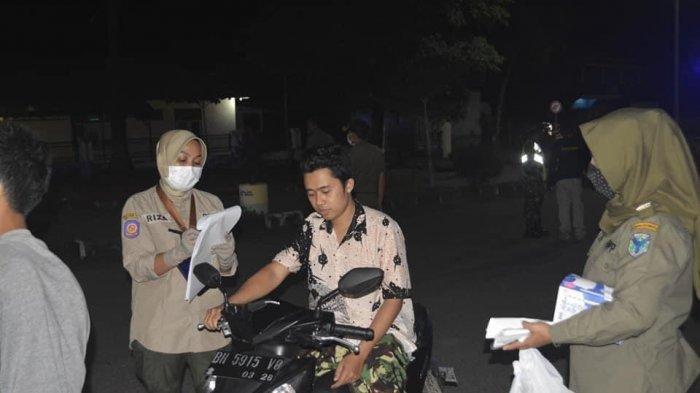 80 Orang Tak Pakai Masker Terjaring Operasi Yustisi Tim Satgas Covid-19 Batanghari