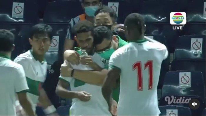 CUPLIKAN 3 Gol Timnas Indonesia ke Gawang Taiwan, Skuad Garuda Lolos ke Kualifikasi Piala Asia 2023